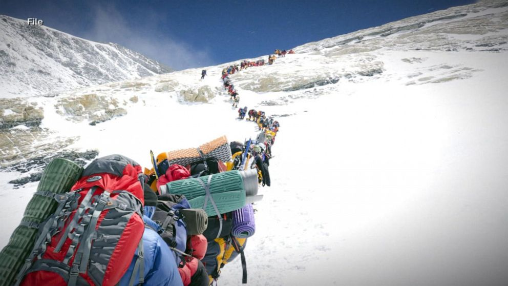 Part morgue, part toilet: Mount Everest a teeming cesspit